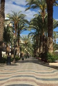 Alicante esplanade